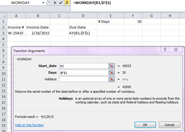 Using Workday To Calculate Invoice Dates Cpa Self Study