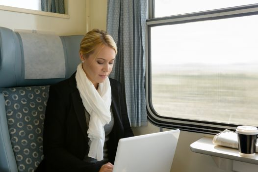 women with laptop doing cpe